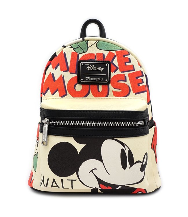 Loungefly Loungefly Disney | Mickey Mouse (Classic) Mini Rucksack