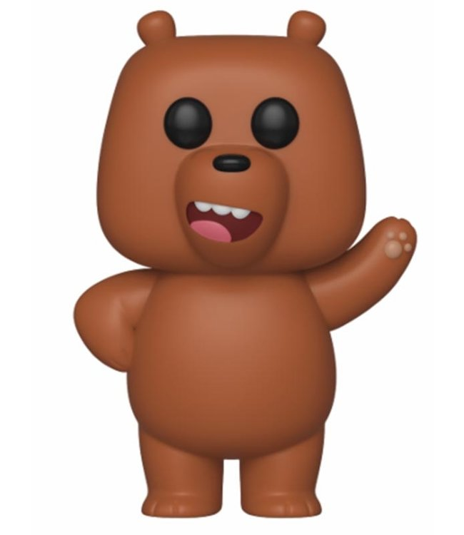 Funko We Bare Bears | Grizz Funko Pop Vinyl Figur