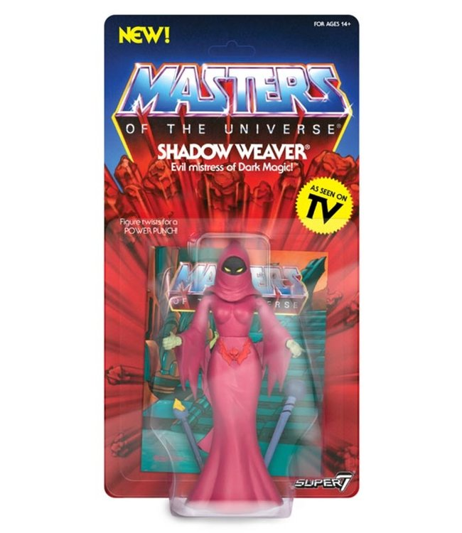 Super7 Masters of the Universe | Shadow Weaver Actionfigur