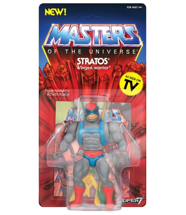 Super7 Masters of the Universe | Stratos Actionfigur