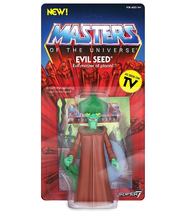 Super7 Masters of the Universe | Evil Seed Actionfigur