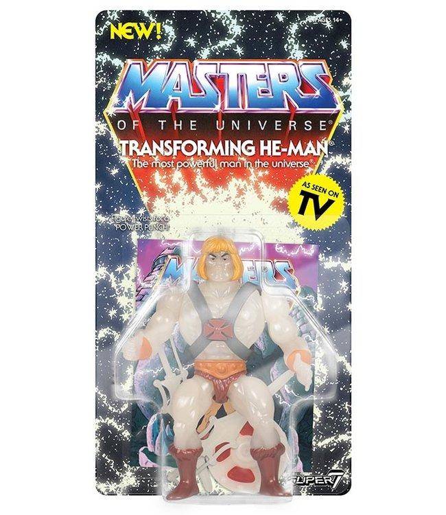 Super7 Masters of the Universe | He-Man (GITD) Actionfigur