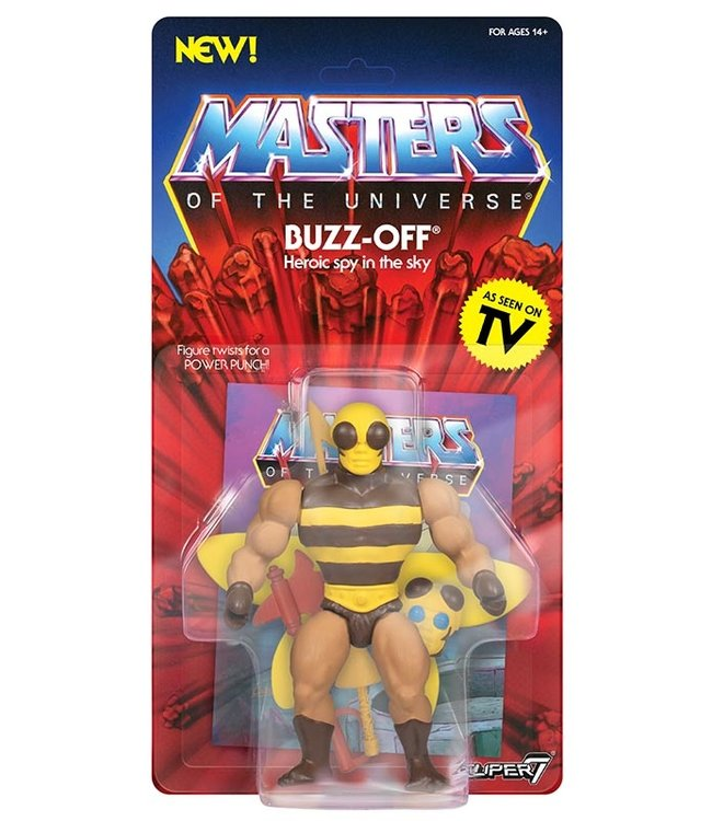Super7 Masters of the Universe | Buzz Off Actionfigur