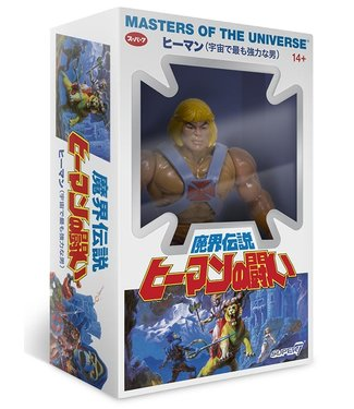 Super7 Masters of the Universe | He-Man (Japanese Box) Actionfigur