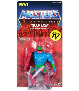 Super7 Masters of the Universe | Trap Jaw Actionfigur