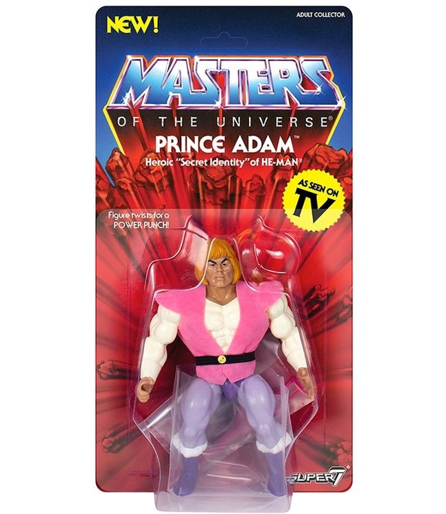 Super7 Masters of the Universe | Prince Adam Actionfigur