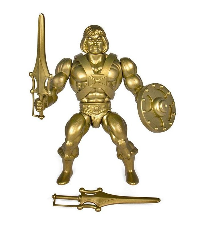 Super7 Masters of the Universe | He-Man (Gold) Actionfigur