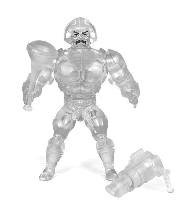 Super7 Masters of the Universe | Man-At-Arms (Crystal) Actionfigur