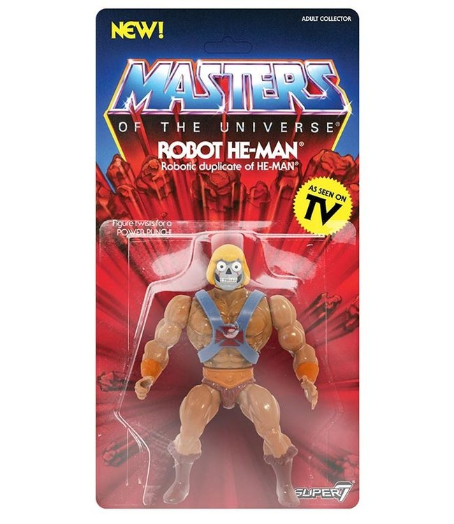 Super7 Masters of the Universe | Robot He-Man Actionfigur