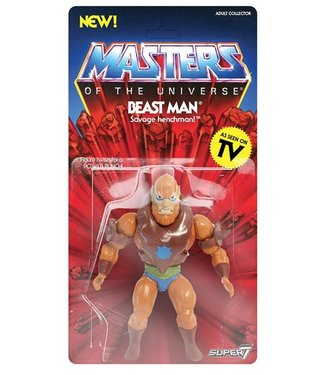 Super7 Masters of the Universe | Beast Man Actionfigur
