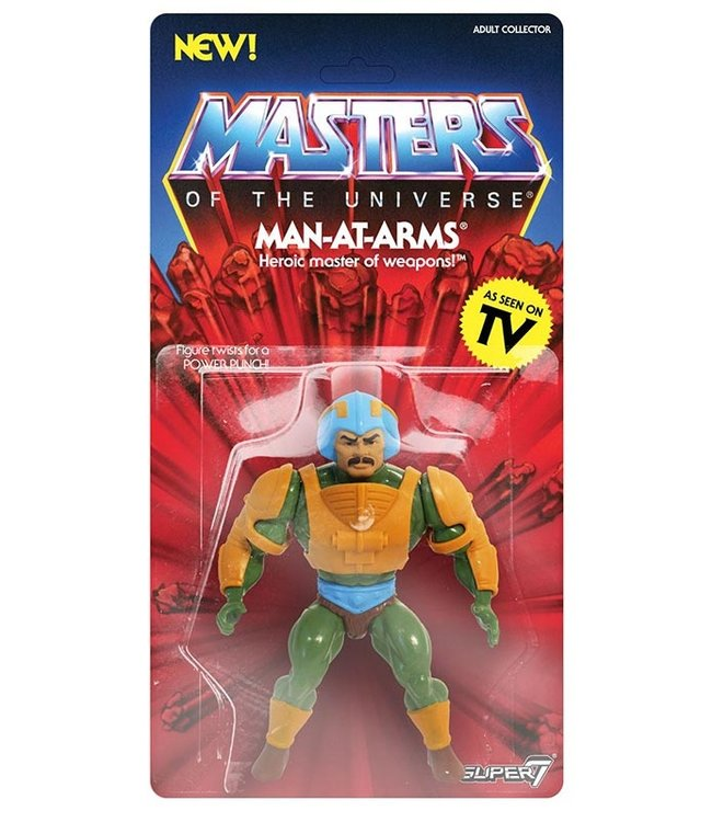 Super7 Masters of the Universe | Man-At-Arms Actionfigur