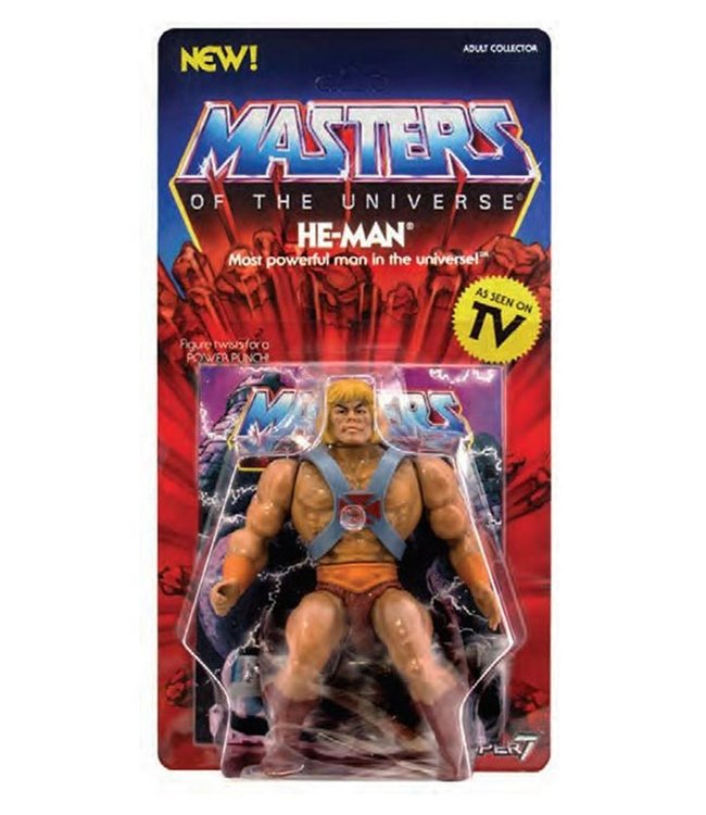 Super7 Masters of the Universe | He-Man Actionfigur
