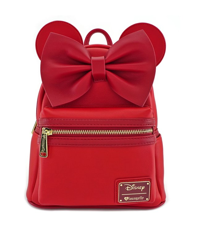 Loungefly Loungefly Disney | Minnie Mouse (Rot) Mini Rucksack