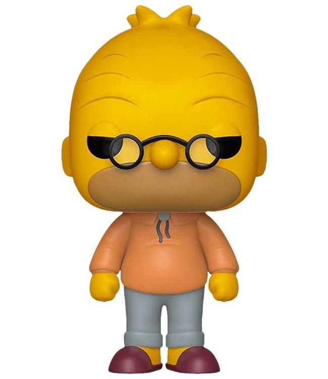 Funko The Simpsons | Grampa Abe Funko Pop Vinyl Figur