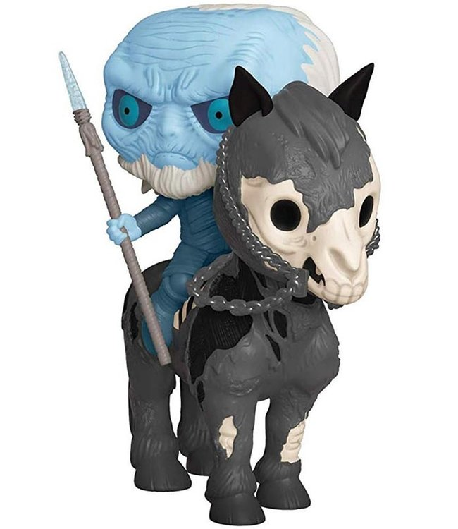 Funko Game of Thrones | White Walker (Horse) Funko Pop Rides Vinyl Figur