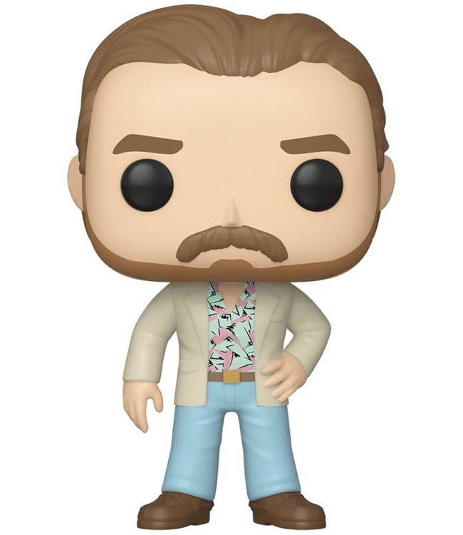 Funko Stranger Things | Hopper Funko Pop Vinyl Figur (S3)