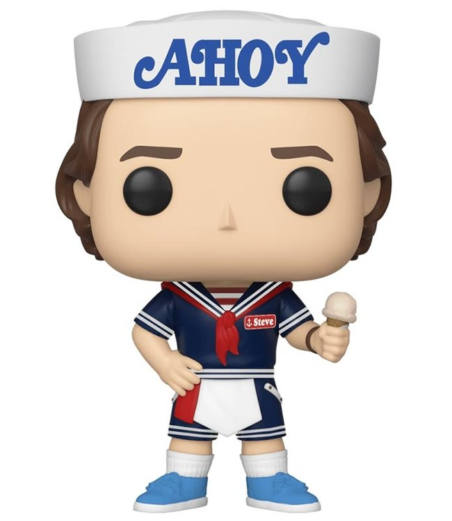 Funko Stranger Things | Steve Funko Pop Vinyl Figur (S3)