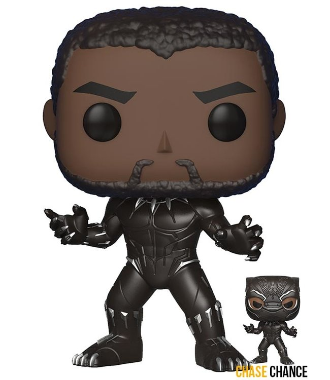 Funko Marvel | Black Panther Funko Pop Vinyl Figur (Chase Chance)
