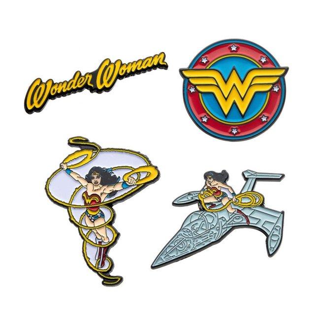 DC Comics DC Comics   Wonder Woman Ansteck-Pin 4er-Set