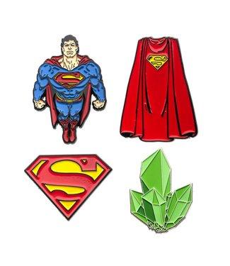 DC Comics DC Comics | Superman Ansteck-Pin 4er-Set