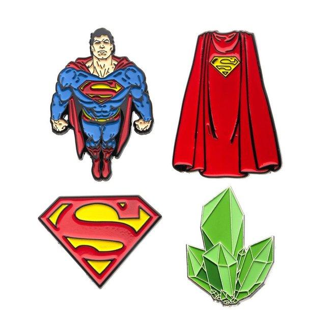 DC Comics DC Comics   Superman Ansteck-Pin 4er-Set