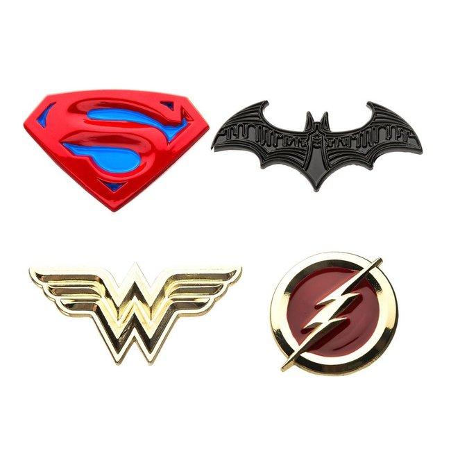 DC Comics DC Comics   Justice League Ansteck-Pin 4er-Set