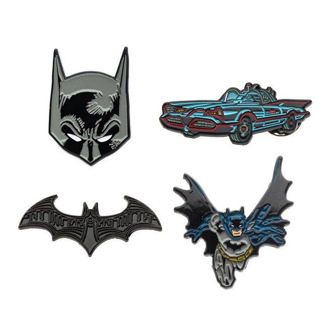 DC Comics DC Comics   Batman Ansteck-Pin 4er-Set