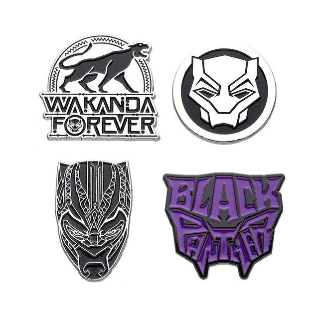 Marvel Marvel   Black Panther Ansteck-Pin 4er-Set