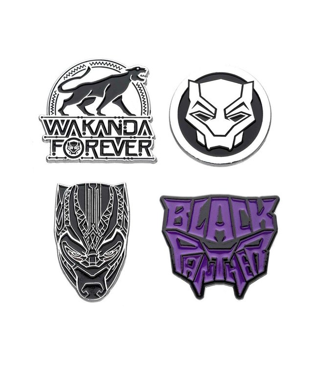 Marvel Marvel | Black Panther Ansteck-Pin 4er-Set
