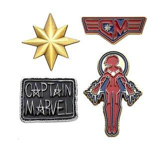 Marvel Marvel | Captain Marvel Ansteck-Pin 4er-Set