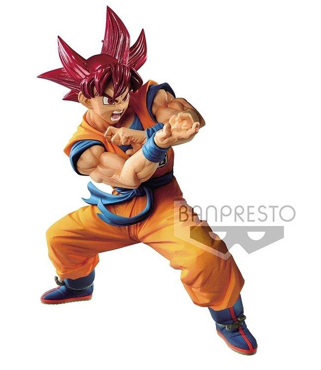 Banpresto Banpresto Dragonball | Super Saiyan God Son Goku (Blood of Saiyans) Statue
