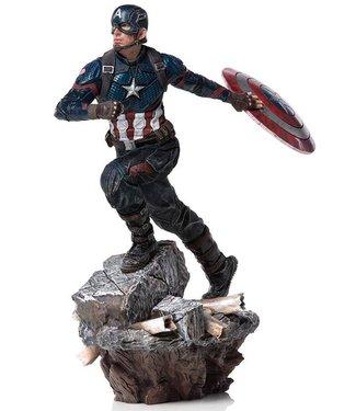 Iron Studios Avengers Endgame | Captain America Deluxe Statue