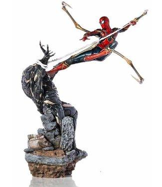 Iron Studios Avengers Endgame | Iron Spider vs Outrider Statue