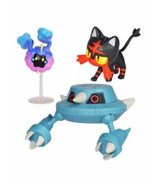 Pokémon Pokemon | Flamiau, Metang & Cosmog Battle Figuren 3er-Set