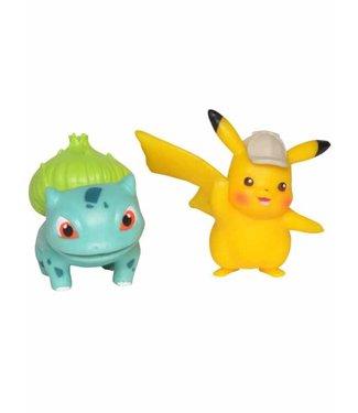 Pokémon Pokemon | Pikachu & Bisasam Battle Figuren 2er-Set