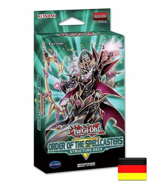 Yu-Gi-Oh Yu-Gi-Oh! | Order of the Spellcasters Structure Deck