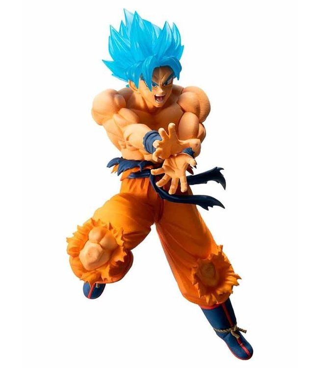 Banpresto Bandai Dragonball | Super Saiyan God Son Goku (Ichibansho) Statue