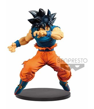 Banpresto Banpresto Dragonball | Ultra Instinct Son Goku (Blood of Saiyans) Statue