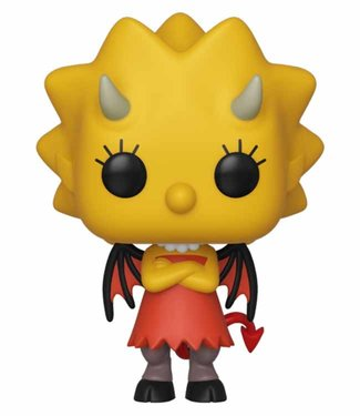 Funko The Simpsons | Demon Lisa Funko Pop Vinyl Figur (Beschädigte Box)