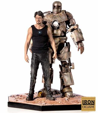 Iron Studios Iron Man | Tony Stark & Mark I (Exclusive) Statue