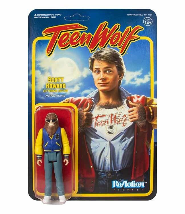 Super7 Teen Wolf   Scott Howard (Werewolf) ReAction Figur
