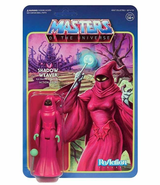 Super7 Masters of the Universe   Shadow Weaver ReAction Figur