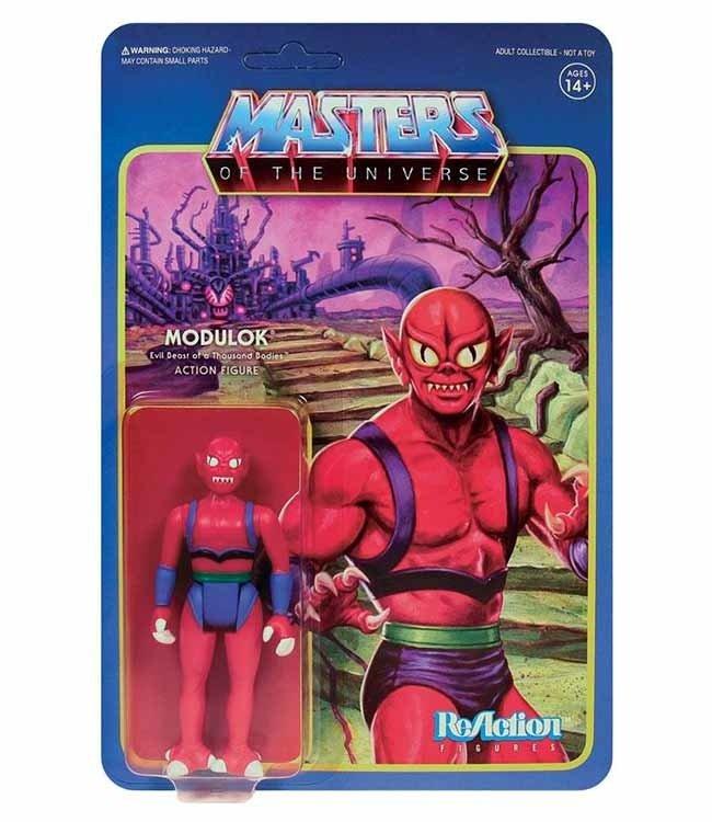Super7 Masters of the Universe   Modulok (Variant) ReAction Figur