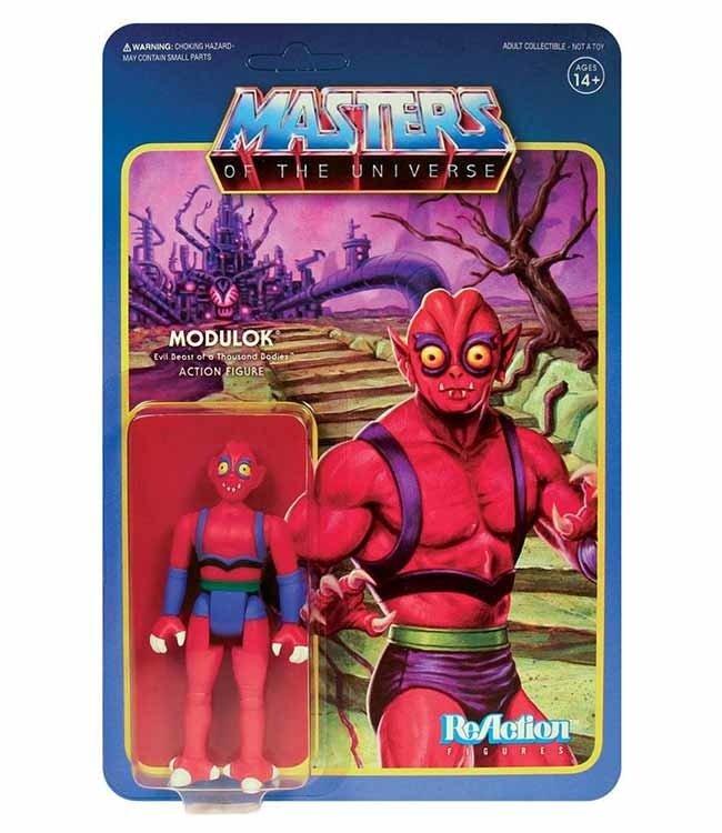 Super7 Masters of the Universe   Modulok ReAction Figur