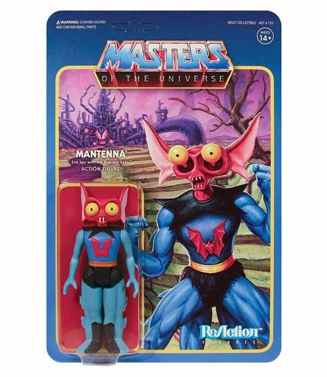 Super7 Masters of the Universe | Mantenna ReAction Figur