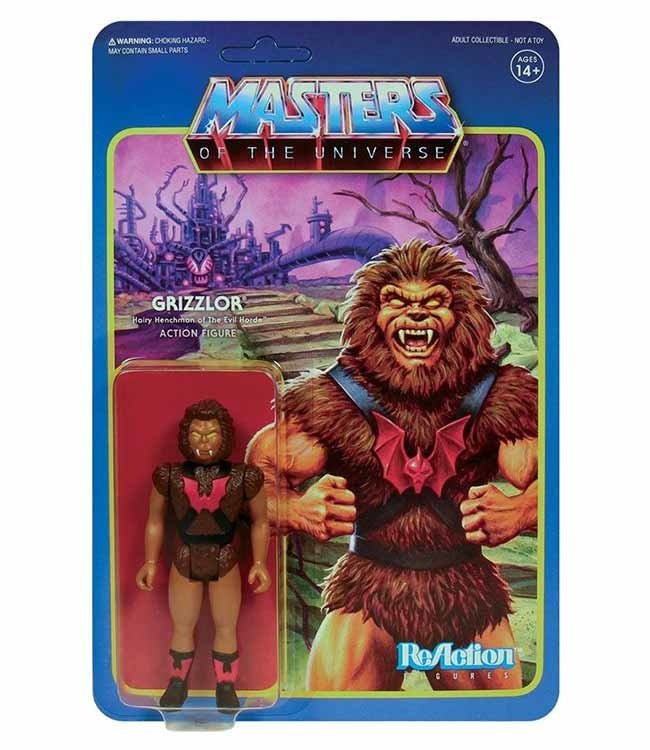 Super7 Masters of the Universe | Grizzlor ReAction Figur