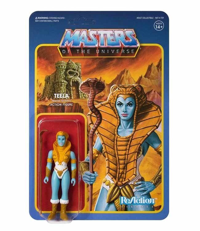 Super7 Masters of the Universe | Teela (Shiva) ReAction Figur