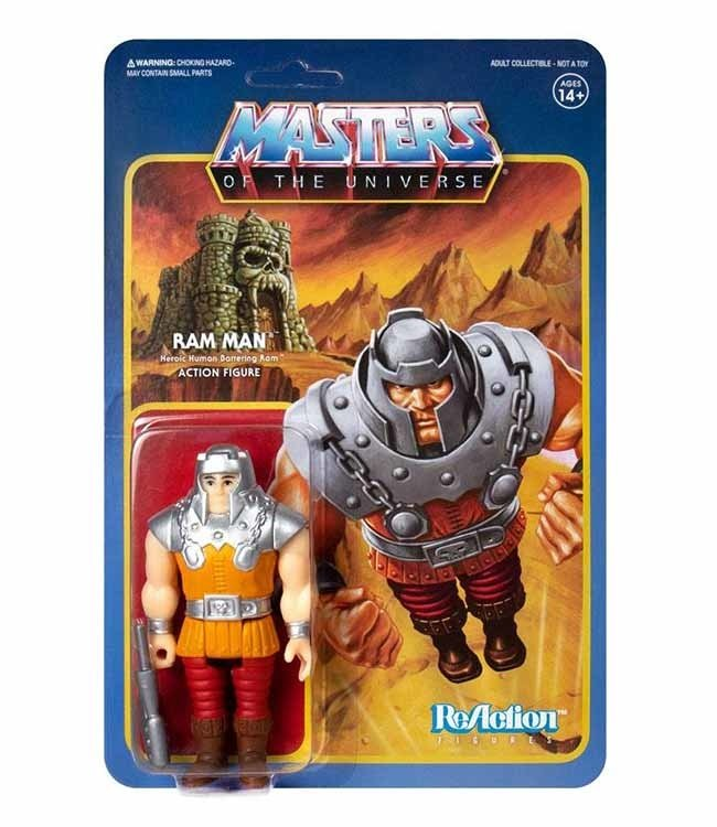 Super7 Masters of the Universe | Ram Man ReAction Figur