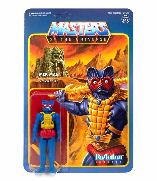 Super7 Masters of the Universe | Mer-Man ReAction Figur