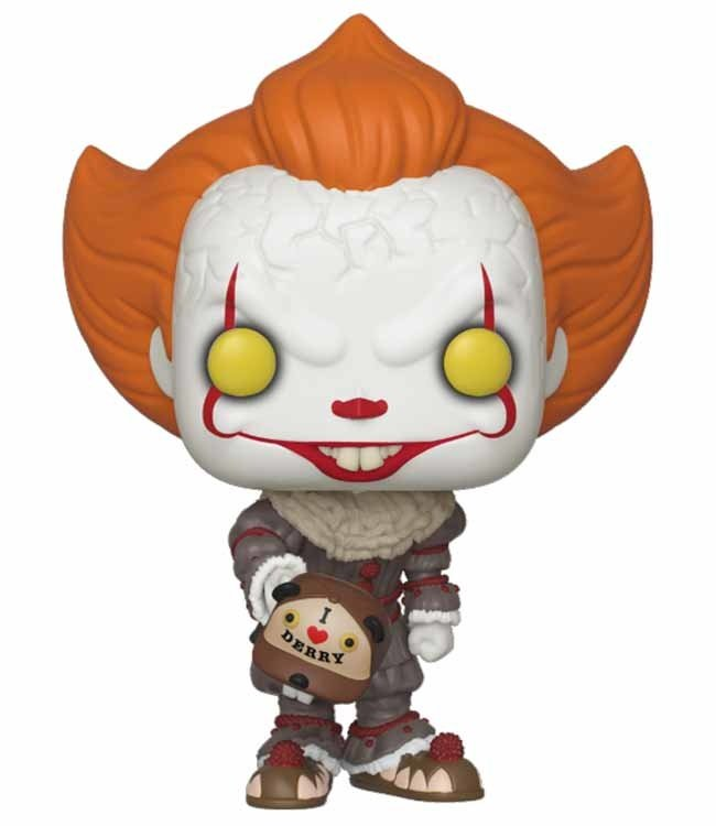 Funko IT: Chapter 2 | Pennywise (Beaver Hat) Funko Pop Vinyl Figur